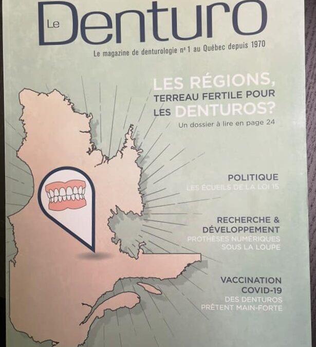 Spring 2021 – Markus Fischer featured – Association des denturologistes du Québec